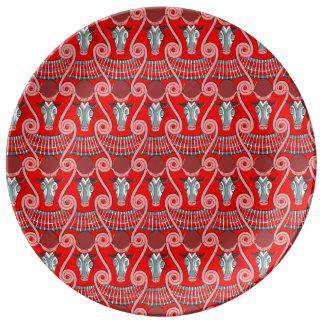 Minotaur Decorative Porcelain Plate 磁器プレート