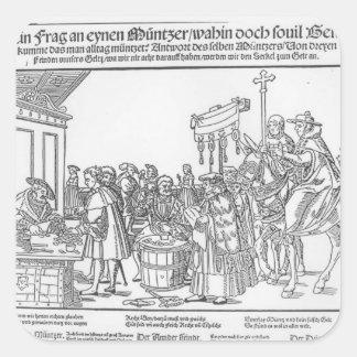 Mintmaker、c.1500への質問 スクエアシール