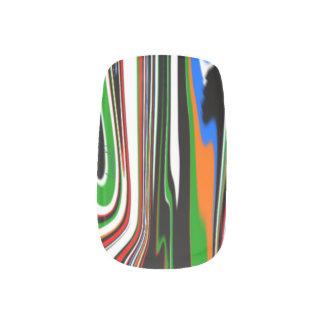 Minxのネイルアートは、手ごとのデザインを選抜します ネイルシール