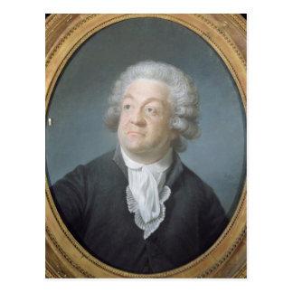 Mirabeau 1789年のHonoreガブリエルRiquetiの計算 ポストカード