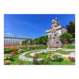 Mirabell宮殿および庭、ザルツブルク、オーストリア カード