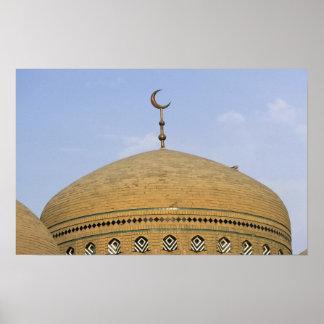 Mirjaniyya Madrasa、バグダッド、イラク ポスター