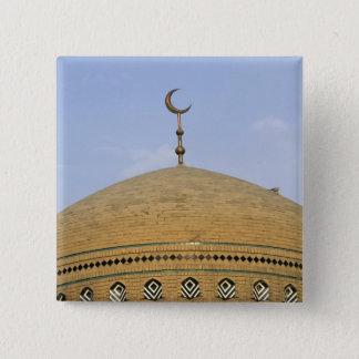Mirjaniyya Madrasa、バグダッド、イラク 5.1cm 正方形バッジ