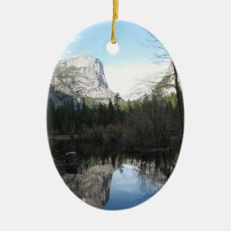 mirror湖-ヨセミテ セラミックオーナメント