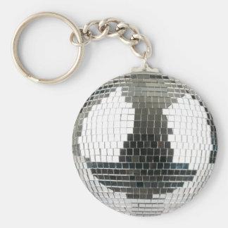 Mirrorballのディスコの球 キーホルダー