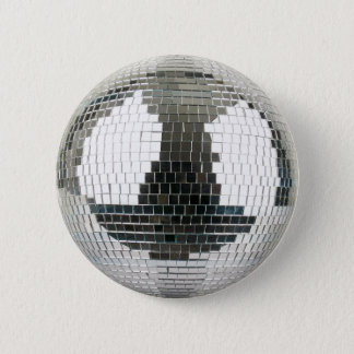 Mirrorball Disco Ball 5.7cm 丸型バッジ