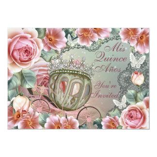 MisのマルメロAnosのプリンセスの誕生日の招待状 カード