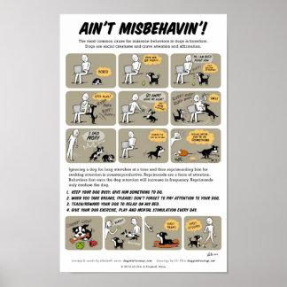 Misbehavinポスターはありません ポスター