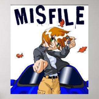 Misfileの挑戦 ポスター