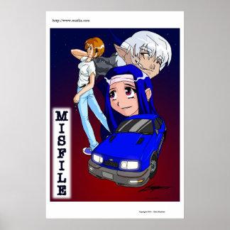 MISFILEポスター ポスター