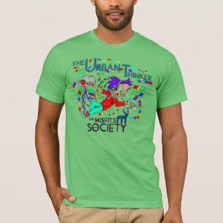 MisfitsSocietyの都市思想家 Tシャツ