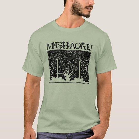 "MISHAORU LOGO T ""FOREST"" Tシャツ"
