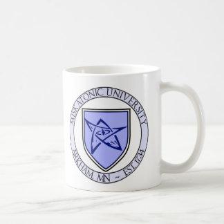 Miskatonic大学シールのマグ コーヒーマグカップ