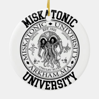 Miskatonic大学CTHULHU HP LOVECRAFT セラミックオーナメント