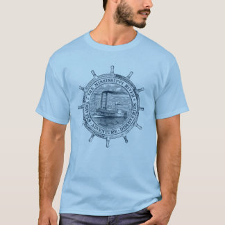 Mississippi River. Travels. Adventure. Discoveries Tシャツ