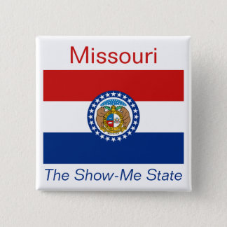 Missourianの旗ボタン 缶バッジ