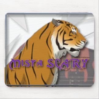Mista恐いベンガルトラのロゴのマウスパッド マウスパッド