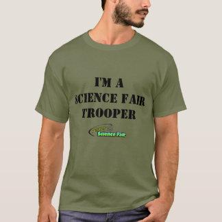 "MisterScienceFair ""私はです科学博覧会の兵士"" Tシャツ"