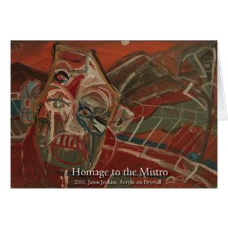 MISTROへの尊敬 カード