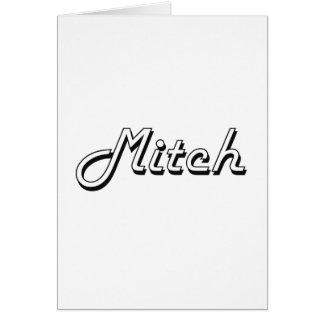Mitchのクラシックなレトロの一流のデザイン カード
