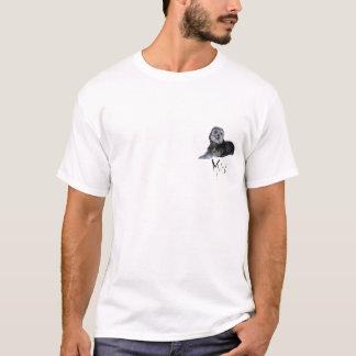 Mitch 3脚のシーズー(犬)のTzuのTシャツ Tシャツ