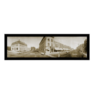 Mitchellのサウスダコタの写真1907年 ポスター