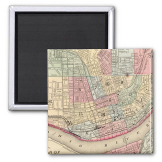 Mitchell著シンシナチの地図 マグネット