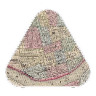 Mitchell著シンシナチの地図 Blueooth スピーカー