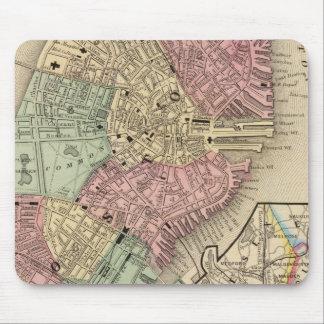 Mitchell著ボストン地図 マウスパッド
