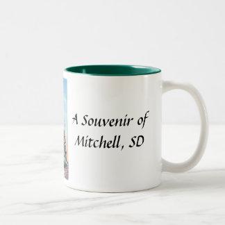 Mitchell、SDの記念品のマグ ツートーンマグカップ