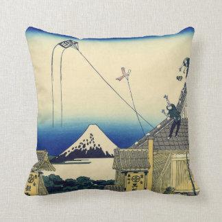 Mitsuiの店富士山のヴィンテージのスケッチ クッション