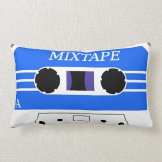 MixTapeのカスタムで青い枕 ランバークッション