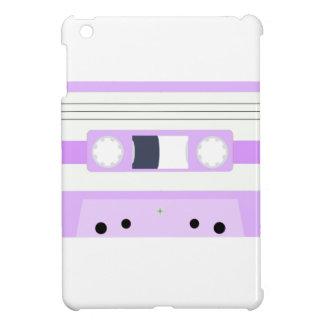 Mixtape -パステル調の紫色 iPad miniケース