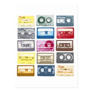 Mixtapesのグラフィック ポストカード