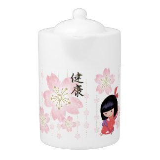 Miyonoの桜のティーポット