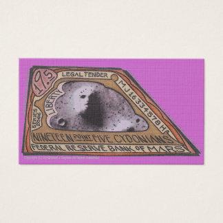 MJ12club*の火星のお金$19.5 CYDONIANSのノート 名刺