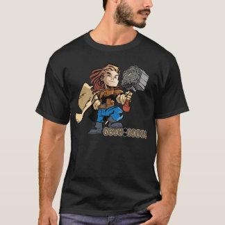 Mjollnirのがきhallaのトール Tシャツ