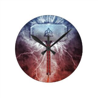 Mjolnir ラウンド壁時計