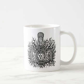 Mjolnir - Valknutのコーヒー・マグ コーヒーマグカップ