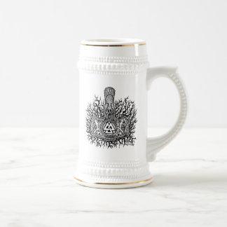 Mjolnir - Valknut ビールジョッキ