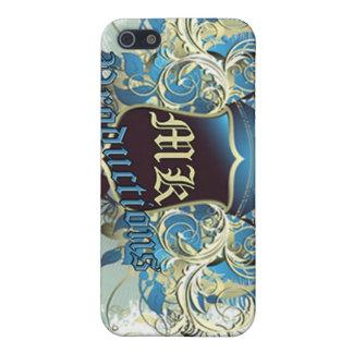 MKのロゴのiphone 4ケース iPhone 5 Case