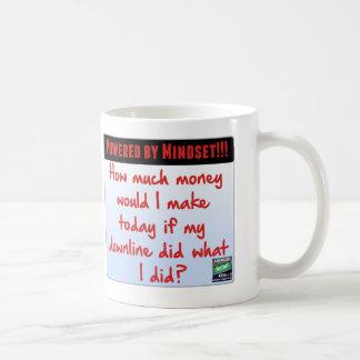 MLMネットワークのマーケティングの考え方のメモのマグ コーヒーマグカップ
