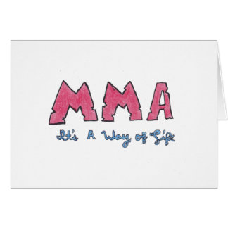 MMAそれは生き方です カード