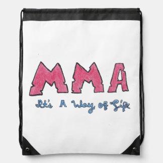 MMAそれは生き方です ナップサック