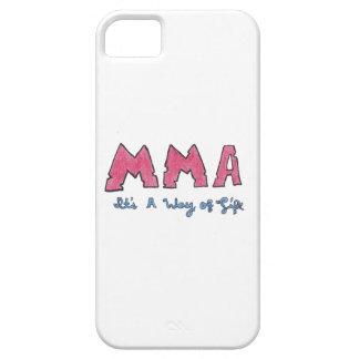 MMAそれは生き方です iPhone SE/5/5s ケース