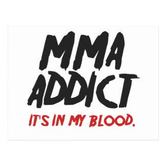 MMAの常習者 ポストカード