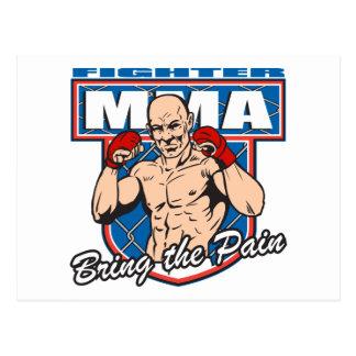 MMAの戦闘機 ポストカード