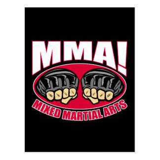 MMAの握りこぶし ポストカード