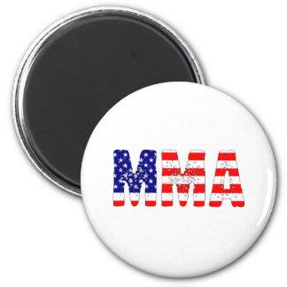 MMA米国の旗 マグネット