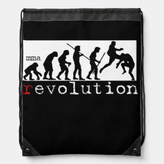 MMA (r)の進化の図表の小さいギアのバッグ ナップサック